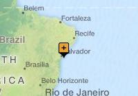Discover Salvador da Bahia map