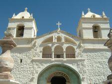 Colca Canyon village church