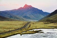 Andean Explorer Train Tracks