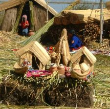 Floating Uros Islands, Lake Titicaca