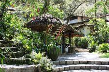 Machu Picchu hotel grounds