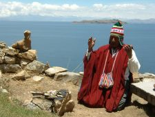 Kallawaya Ceremony on Isla del Sol, Bolivia
