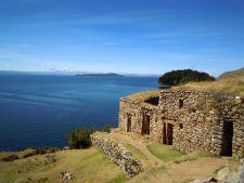 Pilcocaina ruins on Isla del Sol, Bolivia