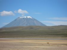 Views on the way from Arequipa to Chivay