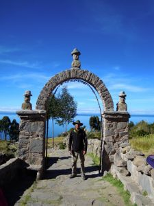 The Island of Taquile, Lake Titicaca, Peru