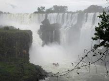 Boat ride at Iguazu Falls, Argentina