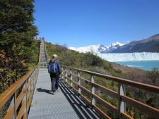 The walkways at Perito Moreno Glacier