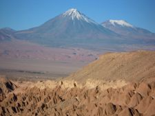 Licancabur Volcano from Moon Valley