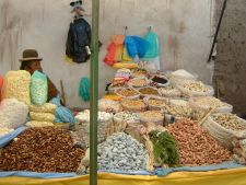 Market Stall in Bolivia