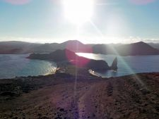 Sunset on Bartolome Island