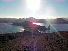 Sunset on Bartolome Island