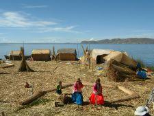 The Floating Uros Islands of Lake Titicaca, Peru